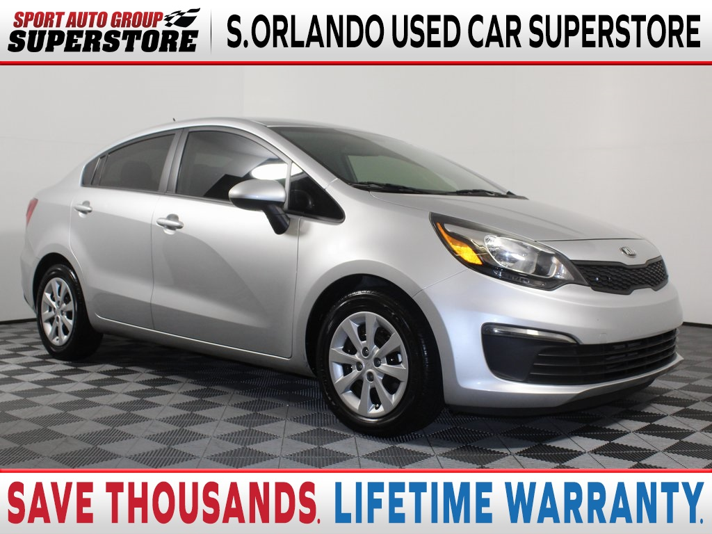 Pre Owned 2016 Kia Rio Lx 4d Sedan In Orlando Bt663217 Sport Auto