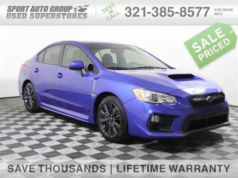 Pre-Owned 2019 Subaru WRX Base