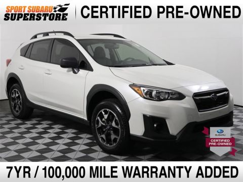 Certified Pre-Owned 2019 Subaru Crosstrek 2.0i